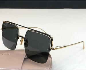 Novas moda feminina óculos de sol homens PARFAIT óculos de sol simples e homens generosos vidros de sol ao ar livre óculos de proteção UV400 com caso