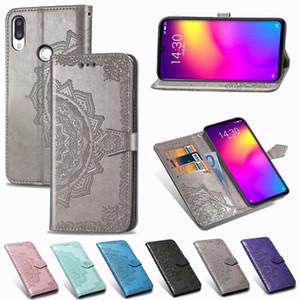 Pour Meizu Note 9 Cas 3D Fleur En Cuir Flip En Relief Flip Pour Meizu Note 9 Portefeuille Couverture de Téléphone