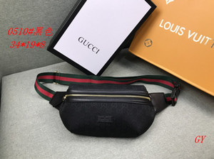 Lujo Fanny Pack para hombre diseñador de las mujeres bolso de la cintura Marca Moda Fannypack Con Carta al aire libre Diseño Chestpack QS B104403X