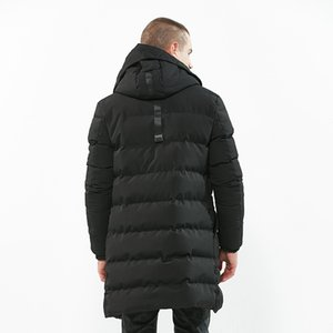 MRMT 2019 Brand New Men's Cotton-padded Jacket Medium and Long Coat Overcoat for Male Cotton-padded Outer Wear Clothing