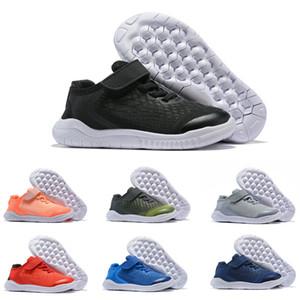 2019 новый бесплатный рн-бег 5,0 волшебная кнопка Дети кроссовки мальчик девочка молодежный малыш спортивные кроссовки размер 22-35