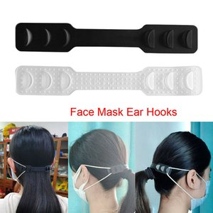 100pcs Lot Face Mask Ear Hook Third Gear Adjustable Ear Strap Non Slip Extension Mask Fixing Buckle Earache Prevention Fixer