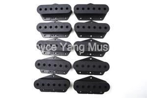 Niko Negro de la guitarra eléctrica Single Coil Pickup Slug bobina cubiertas para Fender Tele Bridge Pastillas ventas al por mayor