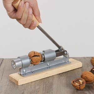 New Manual Stainless Steel Nut Cracker Mechanical Sheller Walnut Nutcracker Fast Opener Kitchen Tools Fruits And Vegetables