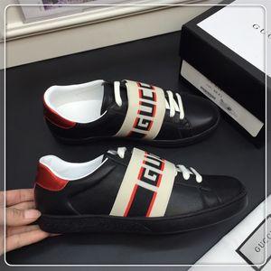 gucci Mocasines de cuero de lujo Zapatilla de diseñador Muller Zapatos para hombre con hebilla Moda Hombre Zapatillas Princetown Damas Casual Mules Pisos 35-45 f162
