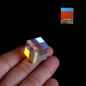 Tools 1PC 5W Laser Beam Combine Cube Prism For 405nm~ 450nm Blue Laser Diode For Optical Instruments Prism Mirror
