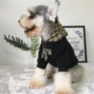Patrón de la letra admiten Coats INS clásico de la moda para mascotas Calle suéter de la personalidad del encanto Keji Fadou ropa perro Chai