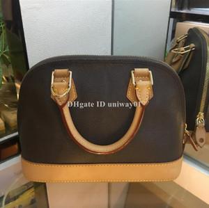 Качество кожи женщин плече сумка тотализатор крест сумка альма бренд дизайнер классический цветок проверил Дамье