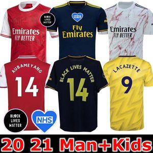 SİYAH MADDE Nicolas 19 20 21 Erkek + Çocuklar futbol forması PEPE TIERNEY CEBALLOS HENRY gömlek 2019 2020 Camiseta de futbol maillot de ayak LIVES