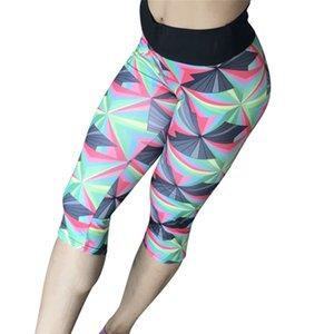 Pantalon capri pantalon long leggings sport femmes Fitness Yoga Gym géométrique Legging fille maille pantalons de yoga femmes # 4JU12 # 976075