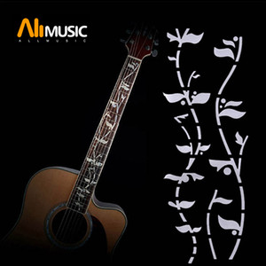 Guitar Fretboard Inlay Stickers Imitation Abalone Gross Acoustic Electric Fret Neck Decals   Markers