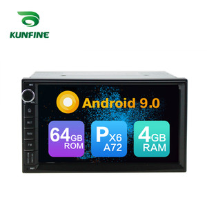 Android 9.0 Core PX6 A72 Ram 4G Rom 64G DVD del coche GPS Reproductor multimedia Estéreo del coche para NISSAN Qashqai / Navara / Tiida / Cefiro Radio Headunit