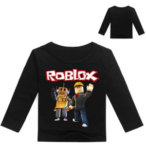2019 Kids Roblox Game Print T shirt Children Spring Clothing Boys Full Sleeve O-Neck Sweatshirts Girls Pullover Coat Clothes