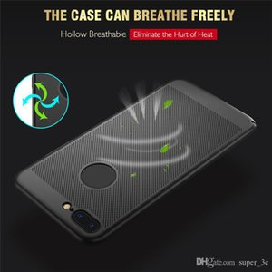 Ultra Thin Phone Case For iPhone 7 8 Plus Hollow Heat Dissipation Case Hard PC Cover For iPhone X XS XR Free Shipping