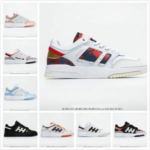 línea al por mayor 2020 zapatillas de deporte del zapato gota Paso hombres mujeres deportes zapatos de cuero informal unisex zapatos del patín del diseñador de moda 36-45