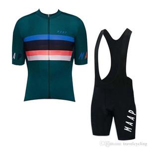 asciugatura rapida abbigliamento da corsa bicicletta Nuovo MAAP riciclaggio della squadra Maglia Set Men Estate traspirante uniforme bicicletta manica corta all'aperto sportivo Y07162