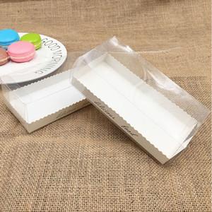 Прямоугольные пластиковые Transparent Box / Clear Пластиковая упаковка коробки торт упаковка коробка образца / подарков / Crafts Показать коробки
