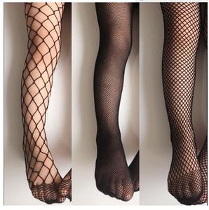 Summer New Kids clothing Girls Fishnet Tights Children Holes Fashion socks leggings 3 colors 3 sizes