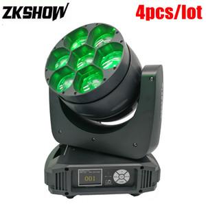 % 80 7 * 40W RGBW Osram LED Işın Moving Head Işık Pro Sahne Aydınlatma Etkisi Sistemleri Luz Dj Disko Parti Disco Bar Müzik Olay Kiralık Kapalı