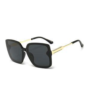Mens Designer Sunglasses Woman Brand Sunglasses Fashion Sun Glasses Half Frame Tortoise Green Glass Lenses