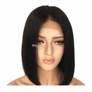 Bob Lace closure Human Hair Wigs With Baby Hair Pre Plucked 4*4 Straight Short Bob hd Lace Wig For Black Women
