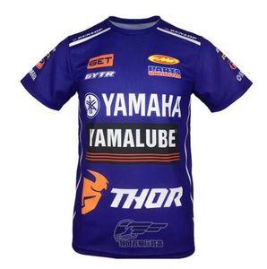 Yamaha Yamaha 2020 nuova giacca T-shirt casuale off-road moto tuta girocollo T-shirt ad asciugatura rapida vestito