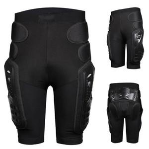 Esqui anca acolchoado snowboard Homens anti-gota Armadura engrenagem anca BuSupport Protecção da motocicleta hóquei snowboard short S / M / L