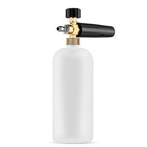 1L Arruela de alta pressão Gun Neve Foam Lance bocais de água Fittings Jet Wash Pulverizador Gun Quick Release Household Ferramenta Car Wash