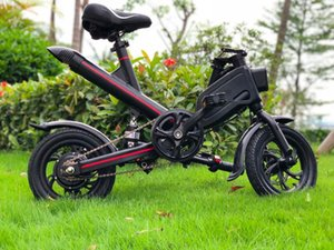 2020 Folding Electric Bike 36V 6.6Ah 7.8Ah Lithium Battery 350W Adult Electric Scooter free shipping