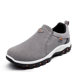 Bahar 2019 yeni erkek gençlik ayakkabıları karşıtı Peluş İngiliz ayakkabı açık dağcılık erkek koşu ayakkabıları
