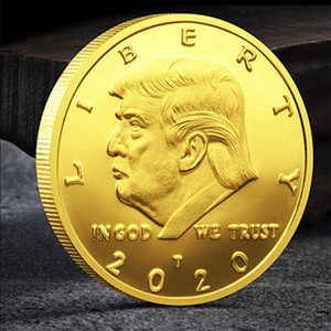 45th United States President Donald Trump Coin 2020 Commemorative Coin Plated Collectible Coin Crafts Art Souvenir New