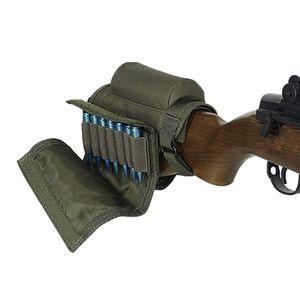 التكتيكية الذخيرة buttstock قذيفة حامل الخد الراحة خراطيش الصيد بندقية رماية النايلون تحمل حقيبة الحافظة 308 300 winmag
