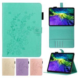 Blossom Blossom Embossing Couro Capa Para Ipad Air Pro 9.7 Mini 1/2/3/4/5 Samsung Galaxy Tab A T720 Multi Card Slots Capa protetora