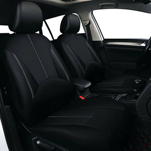 PU Leather Car Cover Seat Protector Cushion Black Front Cover Universal OCC-SC 4 Or 9pcs OCC-SC