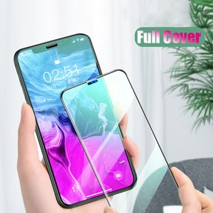 21D Curved Edge Tempered Glass For iPhone X XR XS 11 Pro Max Screen Protector For iPhone 7 8 6 6S Plus Protective Film