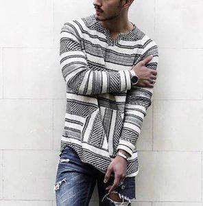 Thirts Striped Mens Designer Tshirts Tees Tees Parted Street Свободная длинная шея V Рукаевая мужская повседневная стиль моды FGGHK