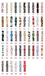 cinta esporte silicone impressão a cores para relógio de maçã 42 milímetros banda 38 milímetros 44 milímetros 40 milímetros iWatch Series 4/3/2/1 pulseiras pulseira