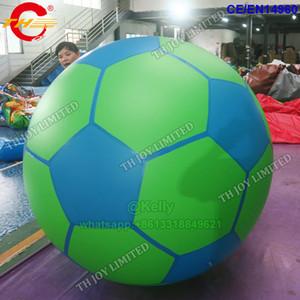 Özelleştirilmiş logolu balon reklam Sıcak satış şişme helyum balon 2m çapı şişme futbol basketbol balonlar