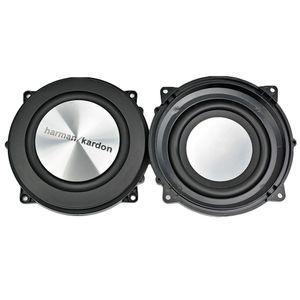 2PC 4 polegadas 120MM Bass Radiator Passive Radiator Speaker alumínio escovado auxiliar Baixo vibração de membrana para Woofer DIY