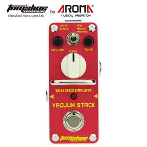 AROMA Gitar Efekt Pedallı AVS-3 Vakum Stack Gerçek Bypass Ile Mini Guitarra Etkisi Pedalı