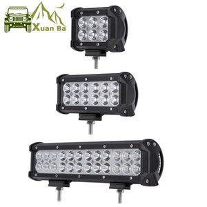 XuanBa 4x4 Offroad 4 '' 7 '' de 12 polegadas Led Light Bar para 12V 24V carro ATV SUV 4WD Motorcycle escavadora Caminhões Offroad Barra Led Lamp Work