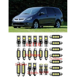 Light Kit Car Interior LED per Mitsubishi Grandis Pajero I-Mie Spazio CARISMA Colt Galant senza errori T10 31 millimetri 36 millimetri 39 millimetri 42 millimetri