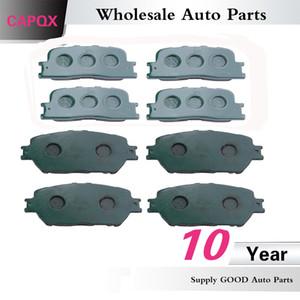CAPQX Frente Verso Dis Brake Pads OEM: 04465-33260 04.466-33.090 Para CAMRY ACV30 MCV30 2001 2002 2003 2004