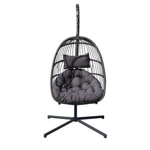 DE confortable Intérieur nordique extérieur Style de patio balançoire suspendue panier Chaise unique personne Balcon Nid d'oiseau Président Livraison gratuite