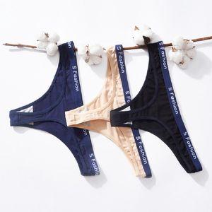 2020 Venta caliente Mujeres Underwear Ropa interior Básitos de la cintura Básitos de la ropa interior String Thong Panty Bragas Sexy lencería Mujer Ropa Mujeres Tangas Bragas