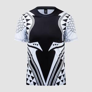 Aquaman Compression Chemise Homme 3D Imprimé T-shirts Hommes 2019 Date Motif Cosplay Costume À Manches Courtes Tops Pour Hommes Vêtements