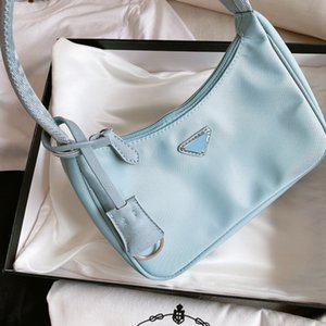 Women Luxury Shoulder Bag Designer Handbag Baguette Nylon Lady High Quality CFY20042550