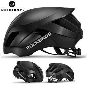 5 Pcs RockBros MTB Road Bike Capacete de Ciclismo 57 centímetros-62 centímetros EPS Integralmente Capacete 3 em 1