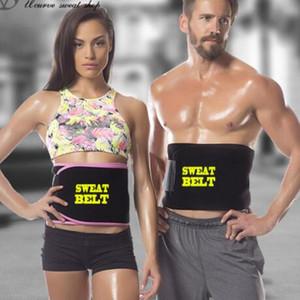 Sport Gürtel New Sweat Taillen-Trimmer-Gurt-Verpackung Magen Abnehmen Fett zu verbrennen Body Shaper Gürtel für Männer und Frauen