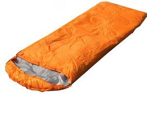 Bolsas Atacado-dormir Warming Individual Sleeping Bag Casual impermeáveis Cobertores Envelope Camping viagens Caminhadas Cobertores saco de dormir